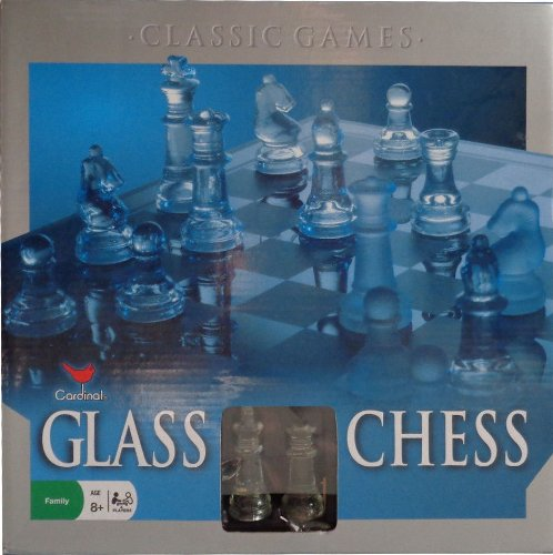 None Premier Edition Glass Chess Set