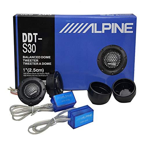 MACHSWON Professional car high Fidelity Stereo Speaker DDT-S30 Tweeter, car Modified car Audio Silk Dome Tweeters