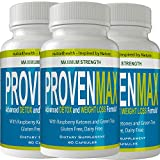 Proven Max Weight Loss Pills (3 Bottle Pack) Advanced Diet Supplements Loss Keto Burn Capsules Extra Strength Metabolism Supplement
