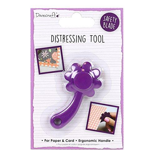 Dovecraft Distressing Tool, Viola, Multicolore, Taglie Unica
