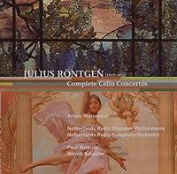 Rontgen: Cello Concertos No 1-3 by Arturo Muruzabal - violoncello (2007-10-30)