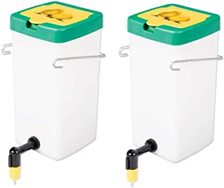 Premier 1 Supplies Chick Nipple Waterer - 1 Litre Capacity - Package of 2