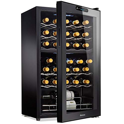 Wine Enthusiast 32-Bottle Dual Zone MAX Compressor Wine Cooler
