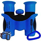 Kids Binoculars 8x21 Age 3-12, Shock Proof Compact Binoculars for Kids, High Resolution Optics for Bird...