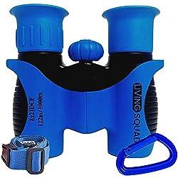cheap 8 x 21, children's binoculars aged 3 to 12, impact-resistant compact binoculars for children, high-resolution optics …