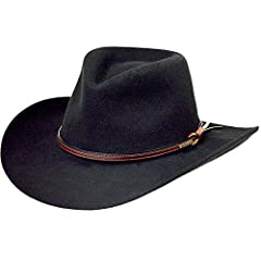 Soft Wool Felt hat by Stetson 3 1/4 inch brim Very Popular