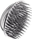 Denman D6 - Cepillo dispensador de champú, color plata