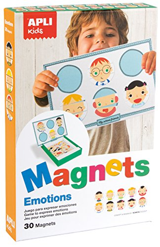 APLI Kids - Juego magnético para explorar estados de ánimo