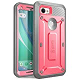 SUPCASE Unicorn Beetle PRO Series Phone Case for Google Pixel 2 XL, Full-Body Rugged Holster Case with Built-in Screen Protector for Google Pixel 2 XL 2017 Release (Pink)