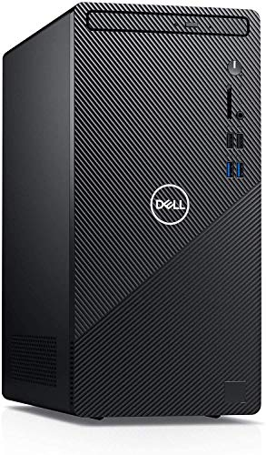 2020 Flagship Dell Inspiron 3880 Desktop 10th Gen Intel Octa-Core i7-10700 (Up to 4.8Ghz) 16GB RAM 512GB SSD USB3.2 HDMI VGA WiFi Bluetooth Card Reader Win10 + iCarp HDMI Cable - NO DVDRW