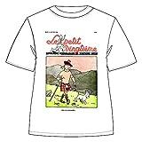 Moulinsart Camiseta 100% algodón Tintín y Milú Le Petit Vingtième Kilt 732002 (2019) - L