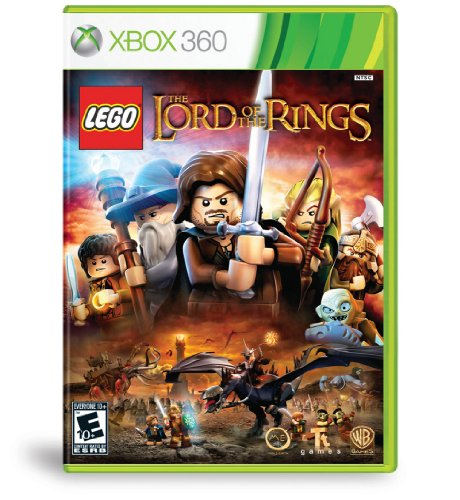 Warner Bros Lego Lord Of The Rings Xbox 360