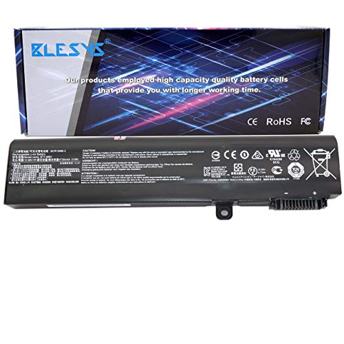 BLESYS BTY-M6H Laptop Battery for MSI PE60 GE62 GE63 GE72 GE73 GL62 GL63 GL72 GL73 GP62 GP63 GP72 GP73 PE70 PL62 MS-16J1 MS-1792 10.86V/51Wh