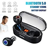 HOCO Portable Charge Wireless Bluetooth 5.0 Earbuds Sport Earpieces Headset...
