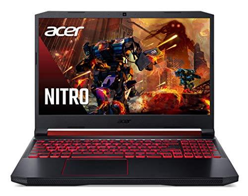 Acer Nitro 5 Notebook, 39,6 cm (15,6 inch) SSD de 256GB  Blanco Y Gris