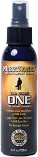 MusicNomad MN103 Guitar ONE All-in-1 Cleaner, Polish, and Wax, 4 oz.
