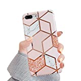 Hishiny Compatible avec Coque iPhone 7Plus 8 Plus, iPhone 7 Plus Avancé Silicone TPU Souple Housse Étui Full Protection Shell Anti-égratignures Coque Ultra Mince Anti-Scrach Bumper, A4, 7 Plus