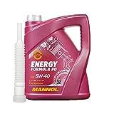 1x5 Liter MANNOL Energy Formula PD 5W-40 API SN ink.Auslaufshlauch