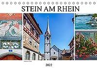 Stein am Rhein - Altstadt mit Charme (Tischkalender 2022 DIN A5 quer): Mittelalterliches Staedtchen am Ende des Bodensees (Monatskalender, 14 Seiten )