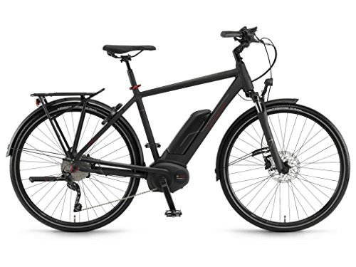 Winora E-Bike Sinus Tria 10 Uomo Cruise 500Wh 28'' 10v Nero Opaco Taglia 48 2018 (City Bike Elettriche) / E-Bike Sinus Tria 10 Man Cruise 500Wh 28'' 10s Black Matt Size 48 2018 (Electric City Bike)