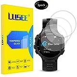 Lusee 3 Stück Universal Schutzfolie für Smart Watch/Smartwatch Durchmesser 40mm [9H Festigkeit] Bildschirmschutzfolie HD Schutzfolie [Anti Kratzer] [Anti Fingerabdruck] 2.5D Panzerfolie