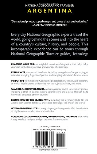 National Geographic Traveler: Argentina, 2nd Edition [Idioma Inglés]