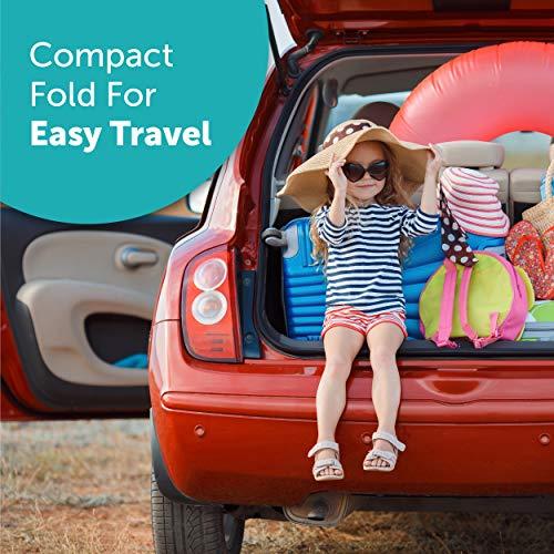 Summer 3Dlite Convenience Stroller, Black – Lightweight Stroller with Aluminum Frame, Large Seat Area, 4 Position Recline, Extra Large Storage Basket – Infant Stroller for Travel and More