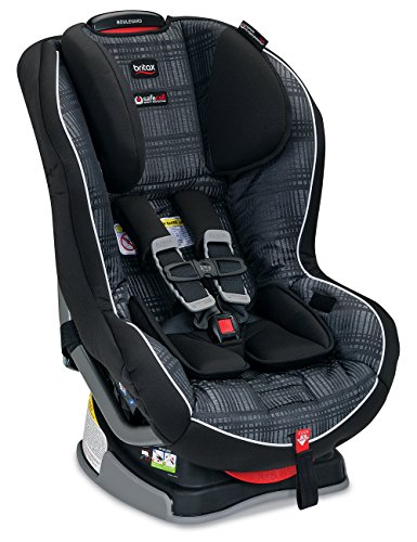 Britax Boulevard G4.1 Convertible Car Seat - 2 Layer Impact Protection - Rear & Forward Facing - 5 to 65 Pounds, Baxter