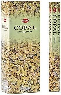 Copal - Box of Six 20 Stick Tubes - HEM Incense