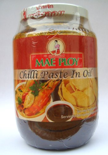 Mae Ploy Chillipaste suesslich Nam Prik Pao Thailand 454g