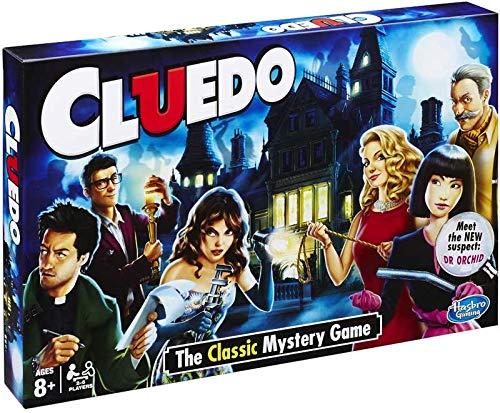 CLUEDO, The Classic Mystery Game - Beseitigen Sie Verdächtige und entdecken Sie WHODUNIT mit was und WO!