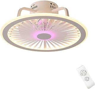 Szlight Ventilador De Techo Ultrafino con Lámparas De Techo Integrado Araña Moderna Minimalista Comedor Lámpara De Dormitorio Ventilador De Techo Silencioso con Luces