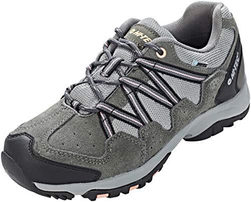 Hi-Tec Ladies Rambler WP Charcoal/Blush Waterproof Walking Hiking Shoes -UK 6 (EU 39)