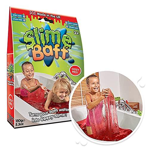 Slime Baff Schleimpulver für die Badewanne,150g,rot