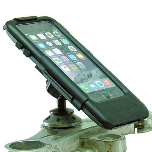 Buybits 12mm Moto Manubrio Supporto & Duro Cover Rigida per IPHONE 7 Plus (5.5') Adatto a Kawasaki & Honda Blackbird