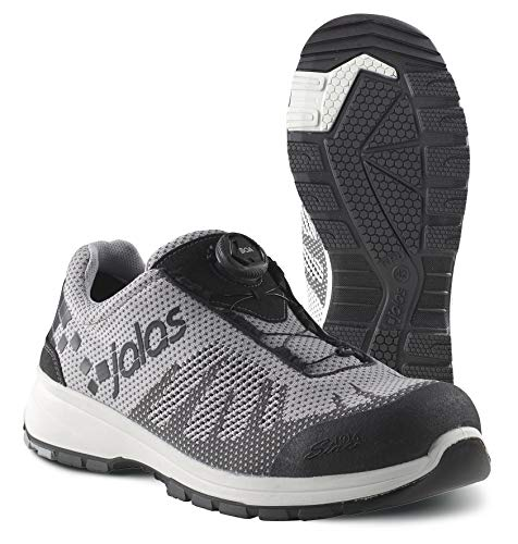 Jalas 7118 Zenit Evo Easyroll Ultralight Technical Safety Shoes (Numeric_10_Point_5) Grey, Black