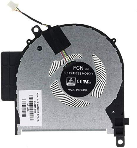 Compatible para HP Envy X360 15-CP 15M-CP 15-CN 15M-CN Series TPN-W134 Reemplazo del ventilador de refrigeracion de la CPU del ordenador portatil