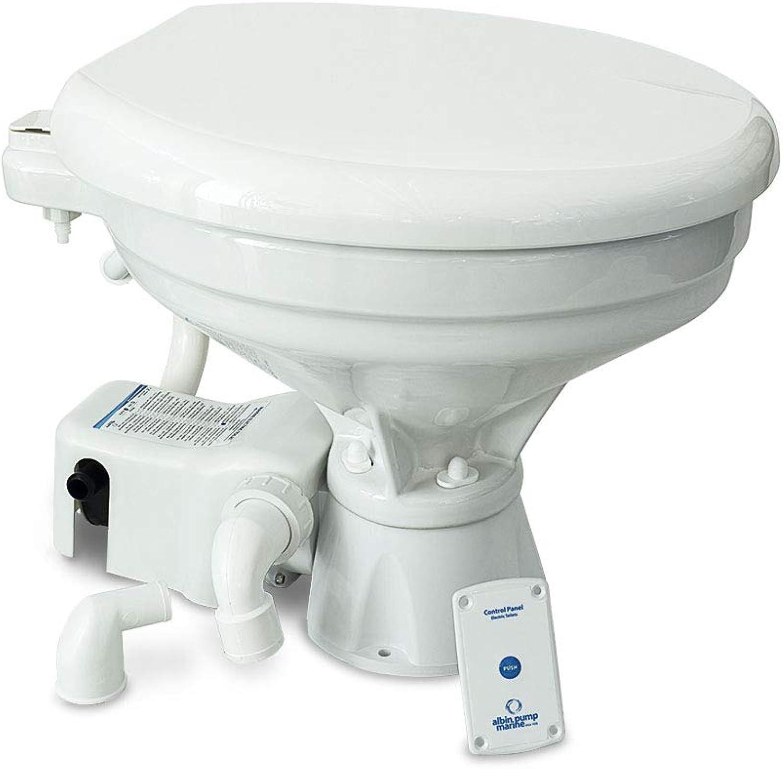 Albin Pump Marine Toilette Standard Elektro EVO Comfort 24V WC Stiefel