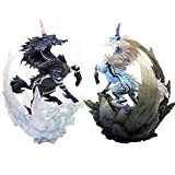 Japon Monster Hunter World Jeu Modèle 2018 Nouveau Chiffres Action Dragon Modèle Kirin Licorne Collection Monstre Cadeau De Noël, Set
