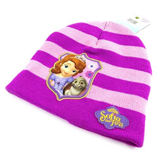 Disney Princesses [L7842] - Bonnet Enfant 'Princesse Sofia' Violet