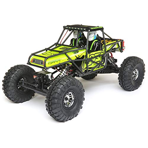 Losi 1/10 Night Crawler SE 4WD RC Rock Crawler Brushed RTR with 2.4GHz FHSS Tx/Rx & LED Lights (Battery & Charger Not Included), Yellow