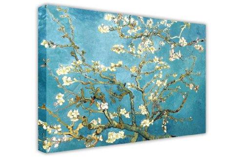 CANVAS IT UP Almendro en Flor de Vincent Van Gogh Lienzo Pared Art Prints Impresión de Fotos de Paisaje–Imagen decoración para el hogar Classic Masterpiece de Pintura al óleo re-Print