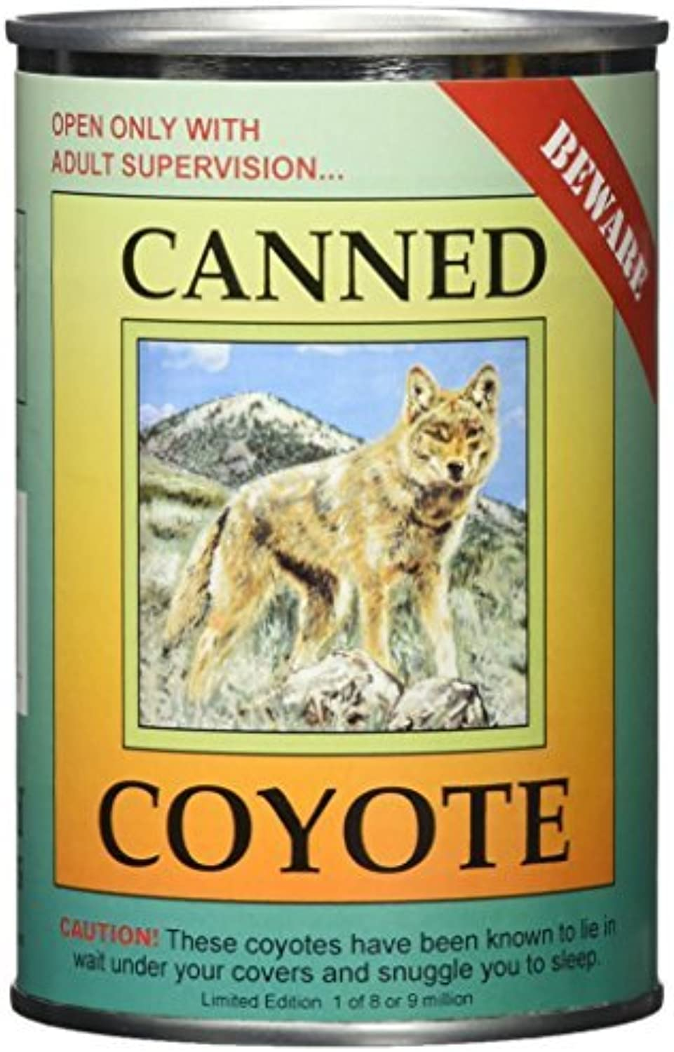 Canned Critters Stuffed Animal  Coyote 6 by N2