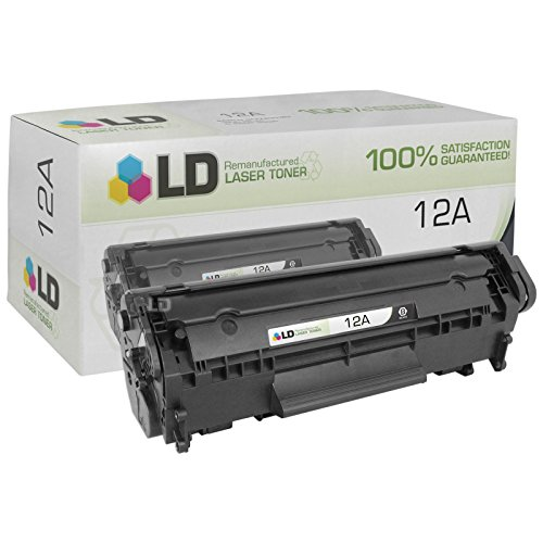 : 10 Pack New Compatible HP Q2612A(12A)/Canon 104 Toner Cartridge