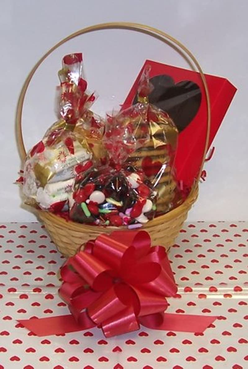 Scott's Cakes Small Time for Love Valentie Basket Handle Heart Wrapping