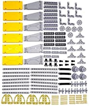 LOONGON Technic Parts 138 Pieces Panel Bricks Technic Parts for Robot, Compatible with Lego Technic Parts