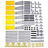 LOONGON Technic Parts 138 Pieces Panel Bricks Technic Parts