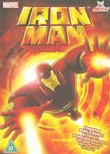 Iron Man Vol 3 DVD 3 hours 26 minutes 9 stories Vol three + 2 60's episodes