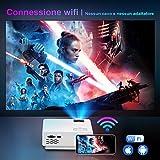 Zoom IMG-1 mini bluetooth wifi proiettore toptro