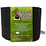 Smart Pots 1-Gallon Smart Pot Soft-Sided Container, Black